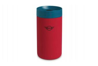Термокружка MINI, червоно-синя