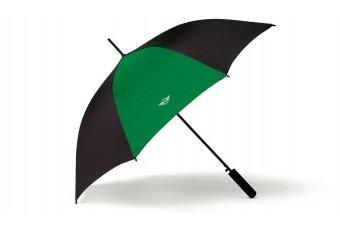Парасоля-тростина MINI Contrast Panel, чорно-зелена