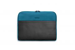 Сумка для ноутбука MINI COLOUR BLOCK, чорно-синя