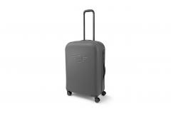 Велика валіза на коліщатках MINI, сіра