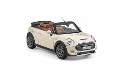 Модель MINI CABRIO (F57) 1:18 Pepper White