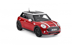Модель MINI COOPER S (F56) 1:18 Blazing Red