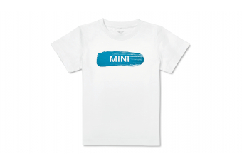 Дитяча футболка MINI WORDMARK, біла