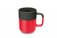 Чашка MINI, чорно-червона