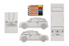 Автомобіль-розмальовка MINI