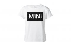 Жіноча футболка MINI WORDMARK, біла