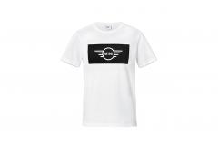 Чоловіча футболка MINI WORDMARK, біла