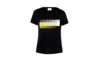 Футболка жіноча MINI Wordmark 3D Stripes