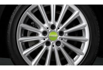 Комплект накладок для колісних дисків MINI Apple Green, Зелений