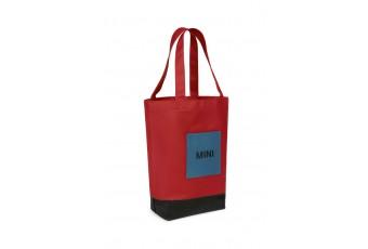 Сумка Shopper MINI, червоно-чорно-синя