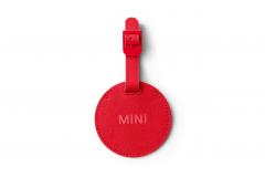 Бирка MINI для валізи, червона