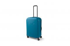 Велика валіза на коліщатках MINI, синя