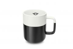 Чашка MINI, чорно-біла