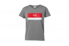 Жіноча футболка MINI WING LOGO, сіра