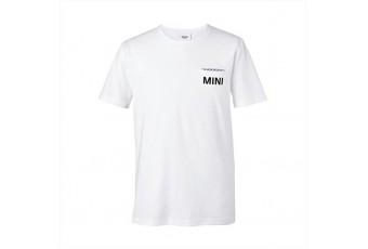 Чоловіча футболка MINI з кишенею, біла