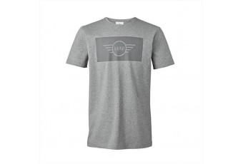 Чоловіча футболка MINI з логотипом, сіра