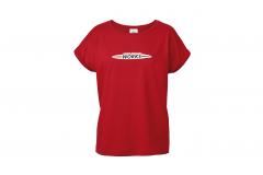 Жіноча футболка MINI JCW, червона