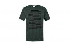 Зелена чоловіча футболка з смужками MINI JCW