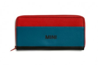 Гаманець MINI WALLET, червоний / синій