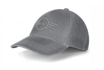 Бейсболка сітчаста MINI Wing, сіра