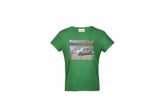 Футболка жіноча MINI Limited Edition I, зелена