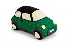 MINI в'язаний автомобіль, зелений