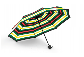 Складана парасолька MINI STRIPED